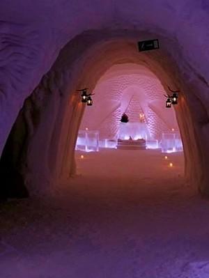 Terbuat Dari Es, Inilah Hotel Terdingin di Dunia