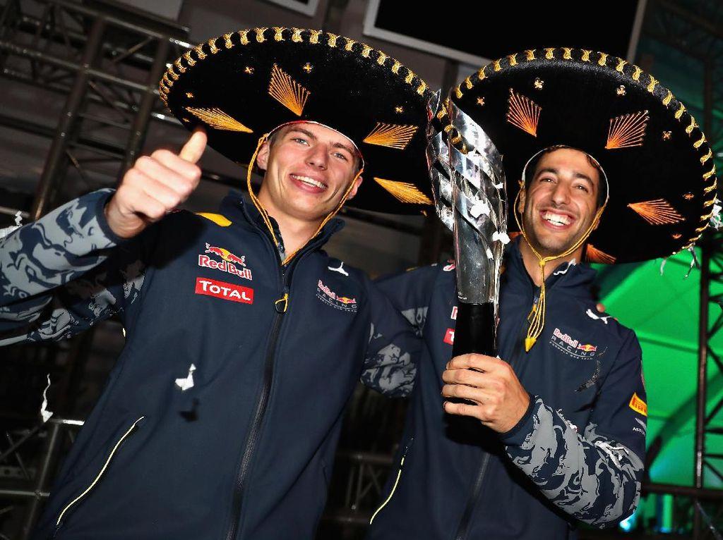 Verstappen: Ricciardo Bakal Kangen Red Bull