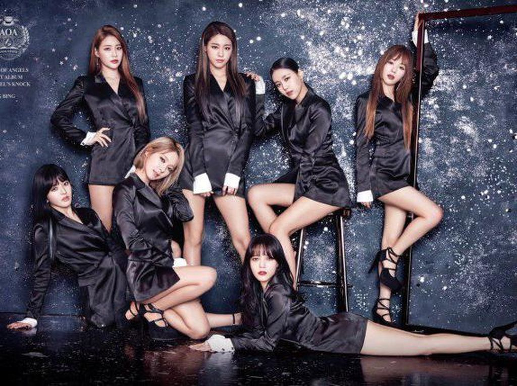 Mina Resmi Hengkang dari AOA dan FNC Entertainment
