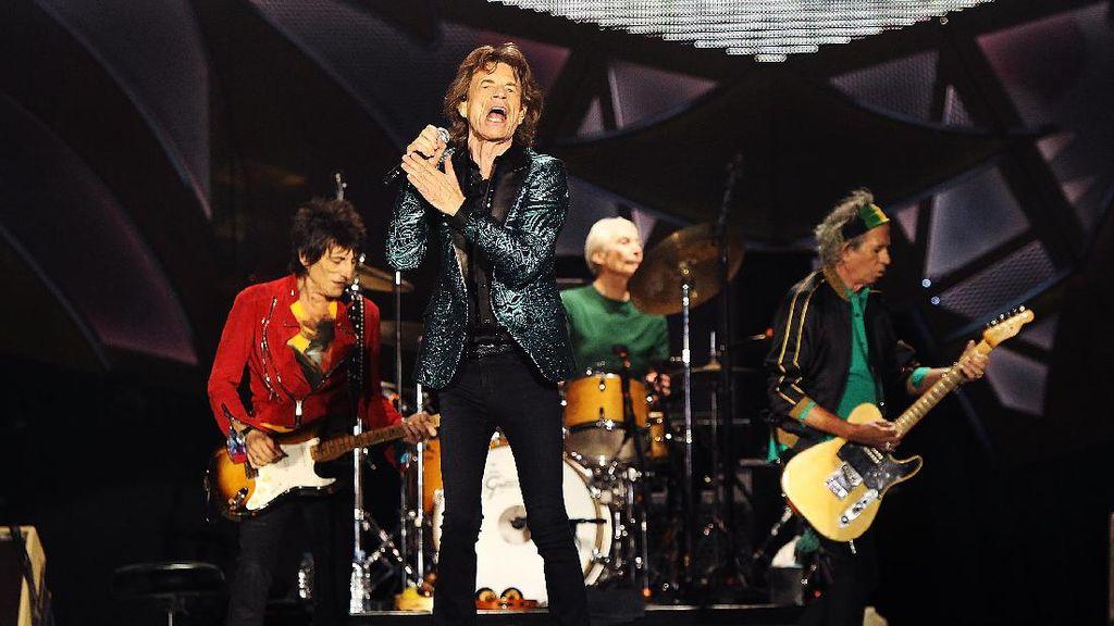 The Rolling Stones Akan Gebrak Eropa dalam Tur Stones - No Filter