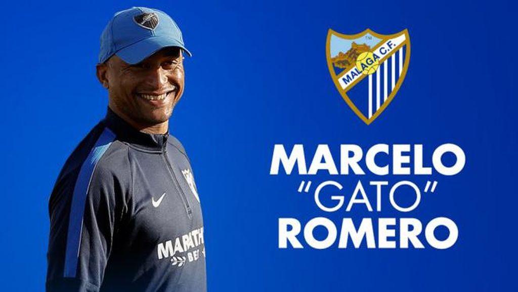 Malaga Tunjuk Marcelo Romero sebagai Pelatih Baru
