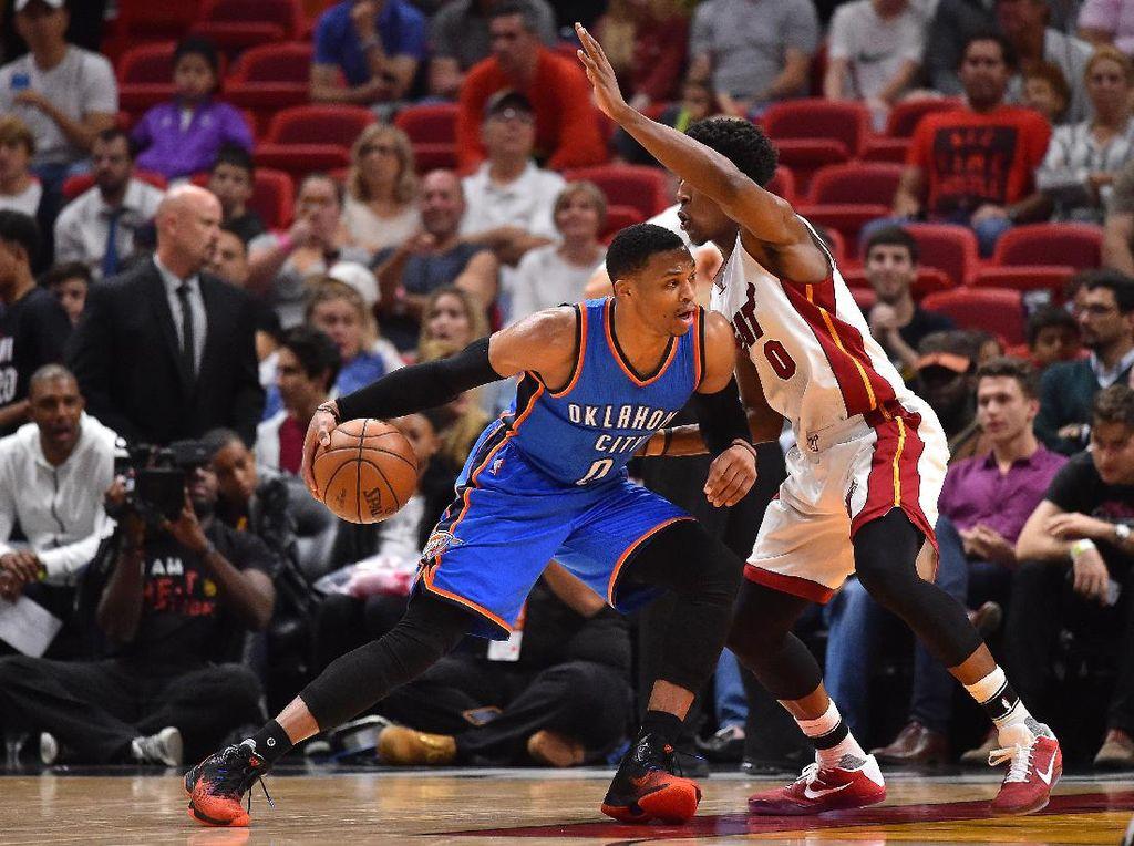 Westbrook Triple-double, Thunder Libas Heat