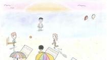 Lukisan Anak-anak Sambut Pengungsi Baru di Australia