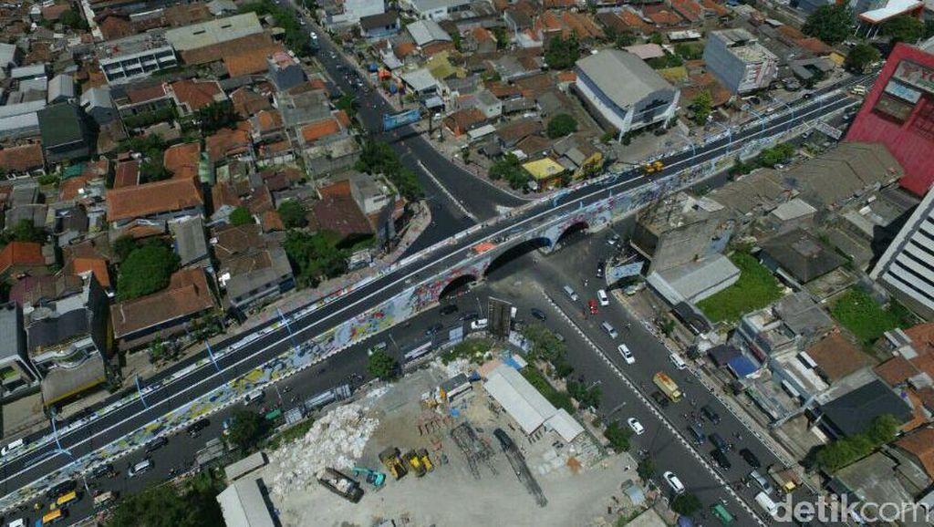 Jalan Layang Antapani di Bandung Siap Digunakan