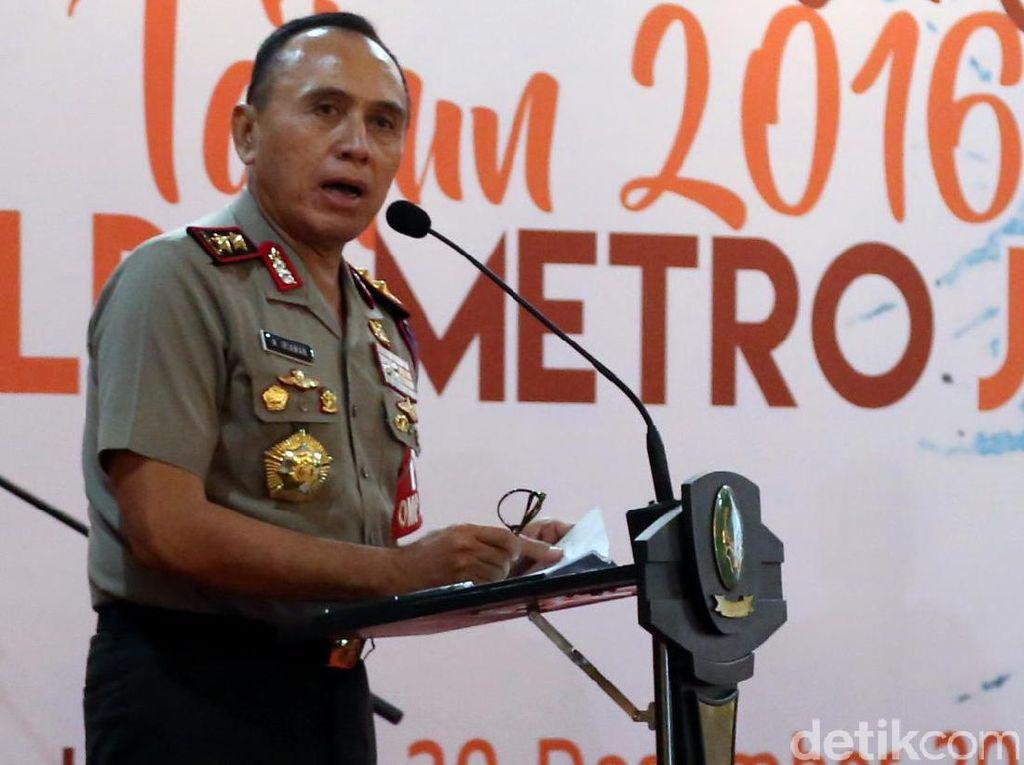Kapolda Metro Jaya Jumpa Pers Akhir Tahun