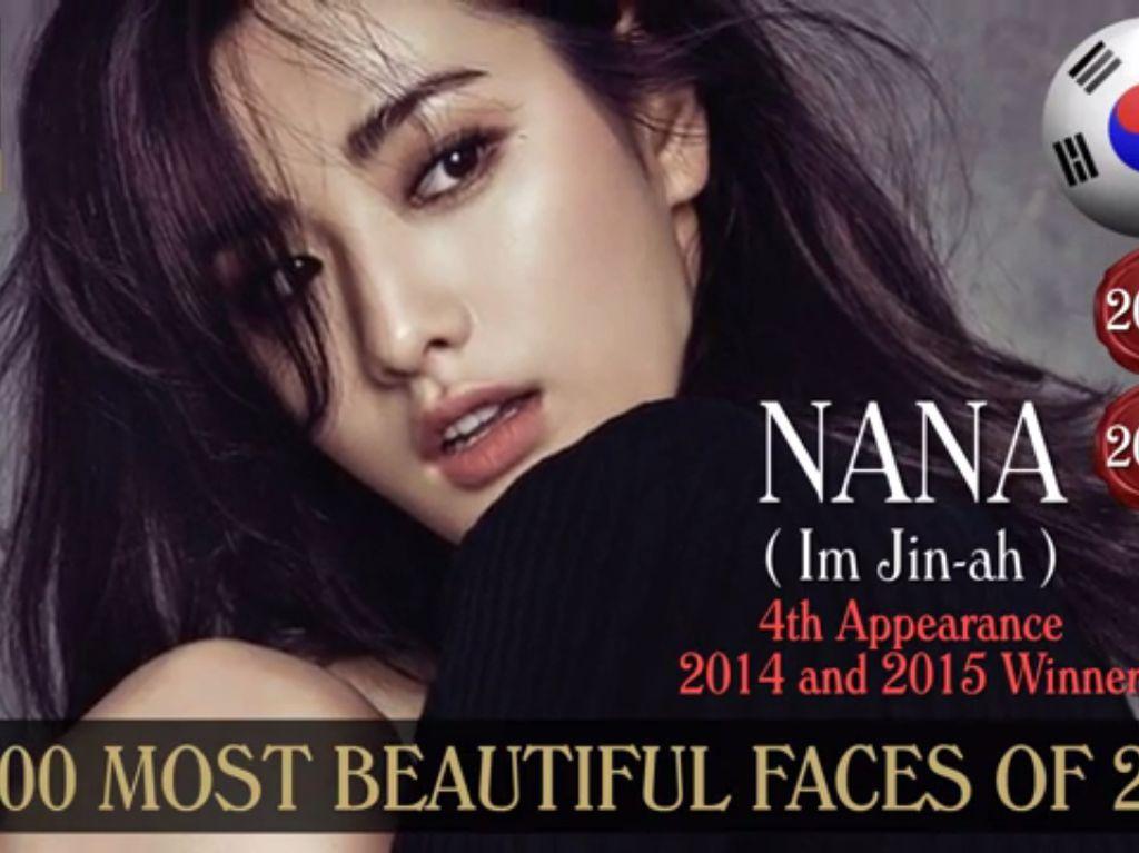 Nana After School Berada di Urutan ke-3 Artis Paling Cantik Sedunia 2016