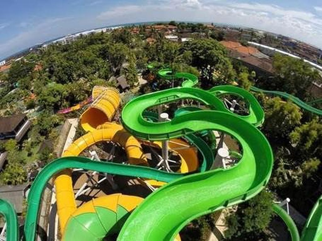 Waterbom Bali Masuk Peringkat 2 Waterpark Terbaik Dunia 2020