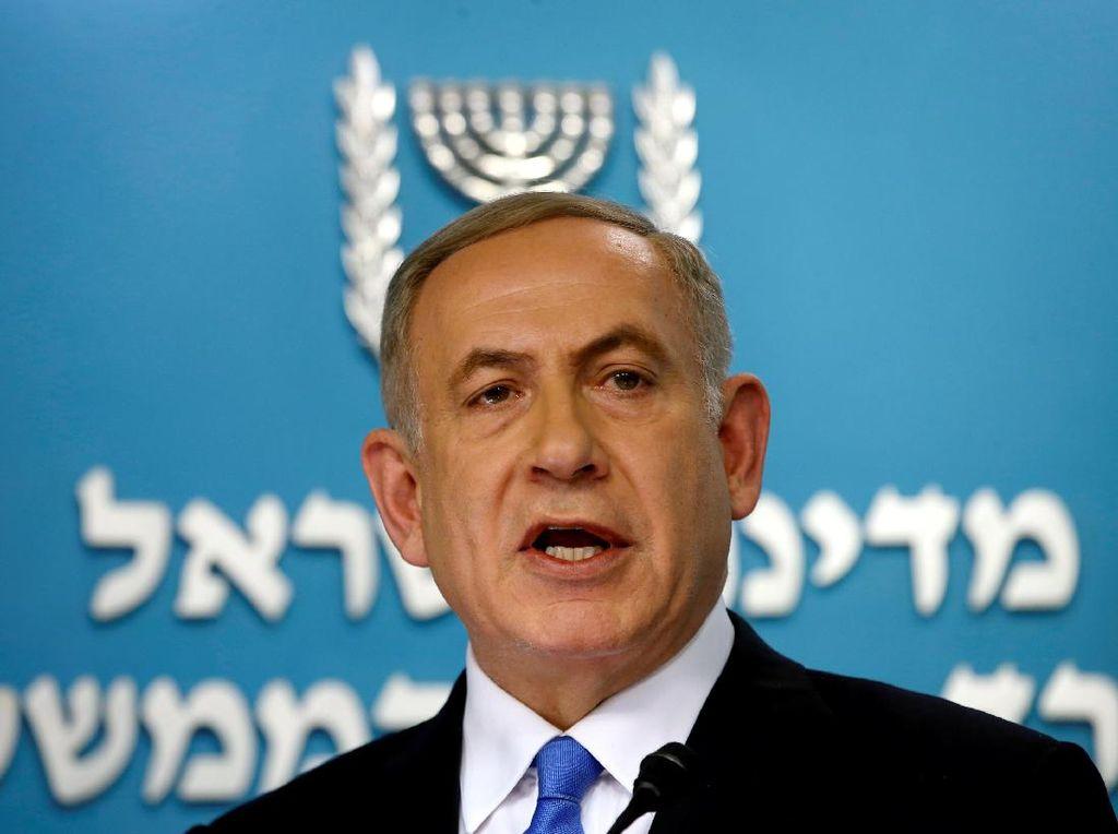 Netanyahu Ingatkan Jet-jet Tempur Israel Bisa Mencapai Iran