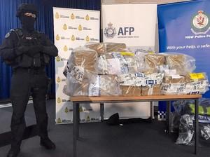 Polisi Australia Sita 1,1 Ton Kokain