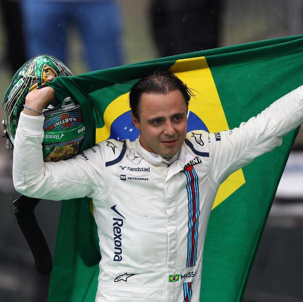 Felipe Massa Masih Bungkam soal Rumor Kembali ke Williams