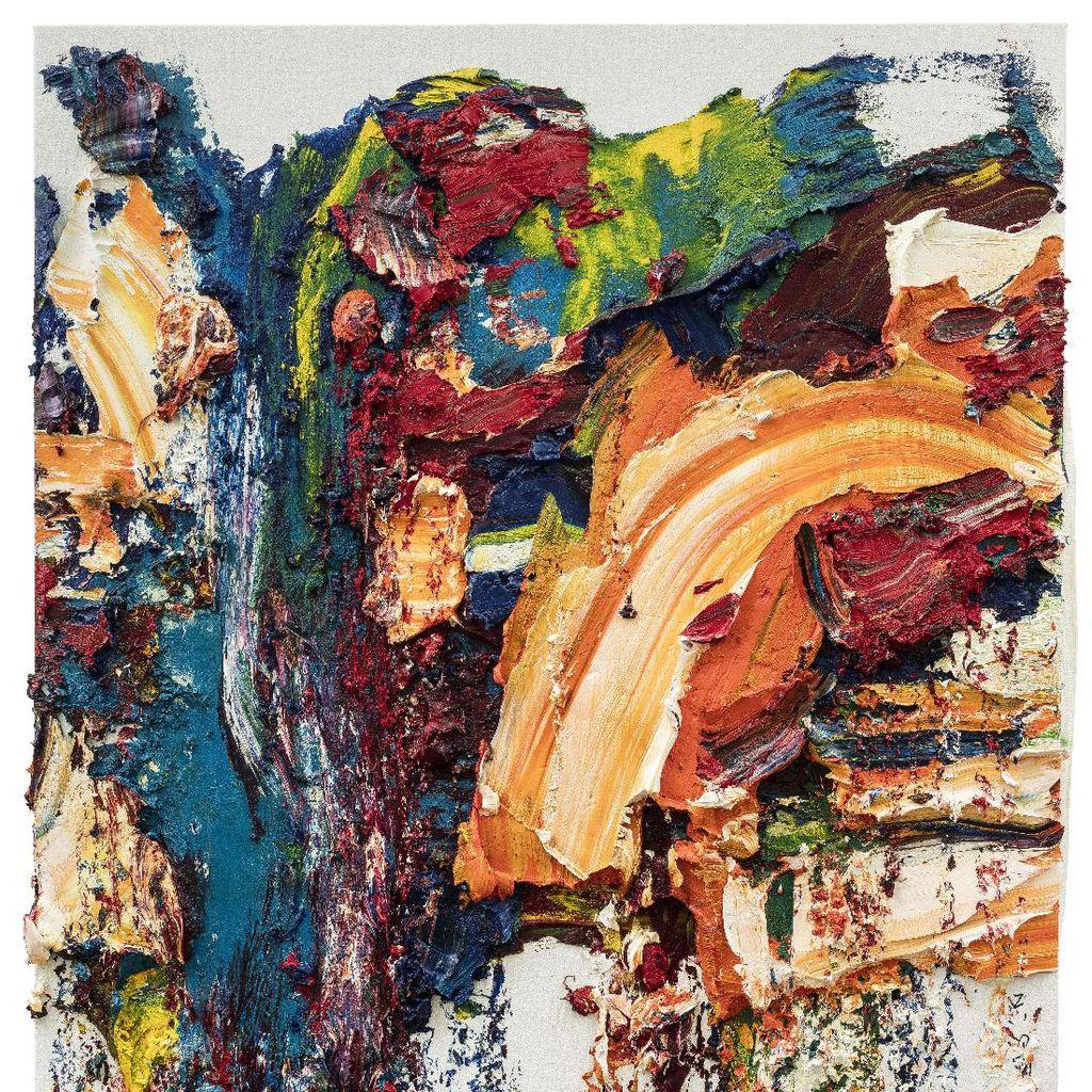Seniman Zhu Jinshi Eksplorasi Lukisan Abstrak yang Tak Biasa