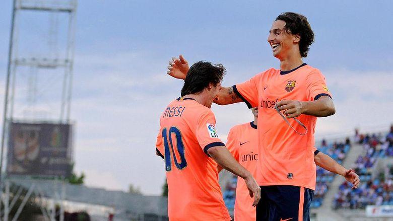 """Bandar Bola - Ibrahimovic: Messi Bisa Saja Sukses Di Liga Inggris"""