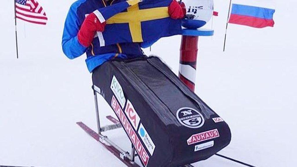 Demi Pasien Kanker Anak, Pria Ini Jauh-jauh ke Kutub Selatan Pakai Kursi Roda