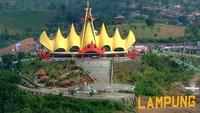 Objek Wisata Lampung Ditutup di Momen Idulfitri