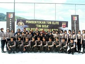 15 Polwan Masuk dalam Pasukan Elite yang Dibentuk Polresta Sukabumi