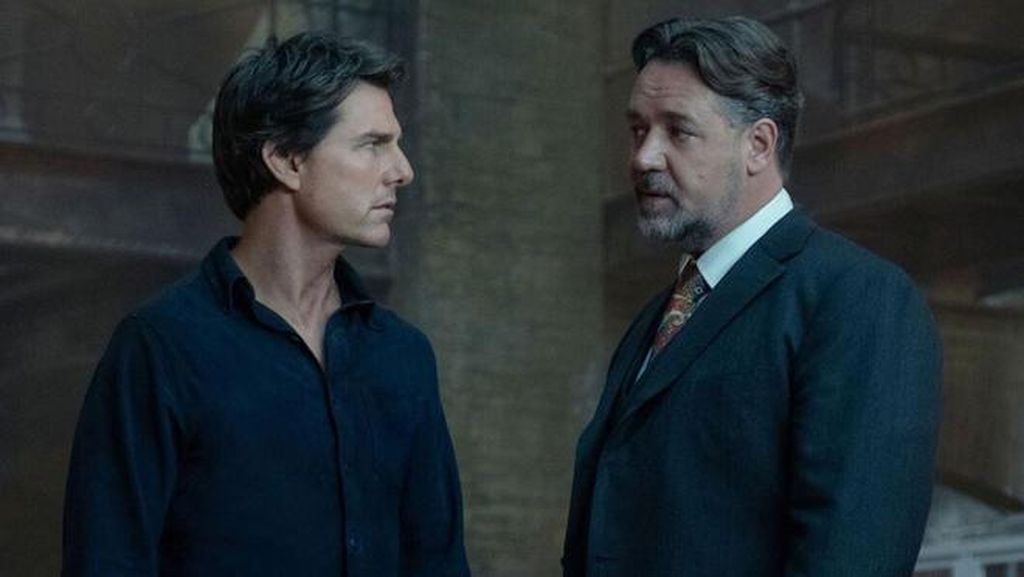 Penampakan Tom Cruise dan Russell Crowe di The Mummy