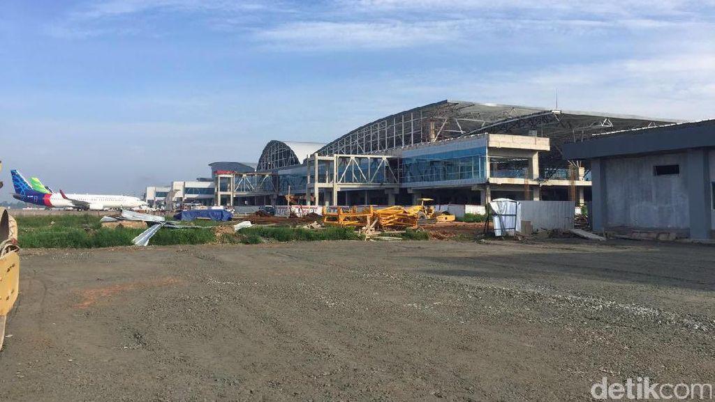 Bagian Aspal Naik di Bandara Kualanamu Bukan di Zona Take Off