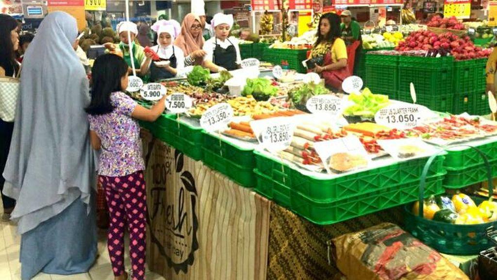 Transmart Carrefour Tawarkan Aneka Pilihan BBQ untuk Tahun Baru