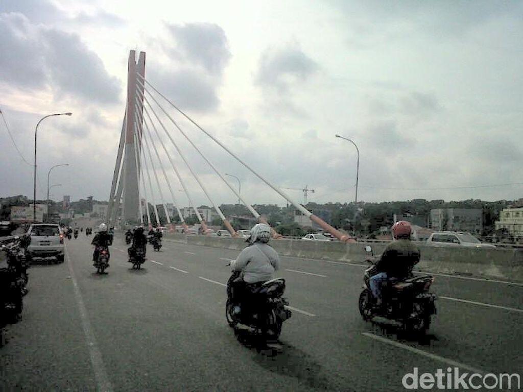 Ada Perbaikan, Jembatan Pasupati Bandung Ditutup Tiap Malam