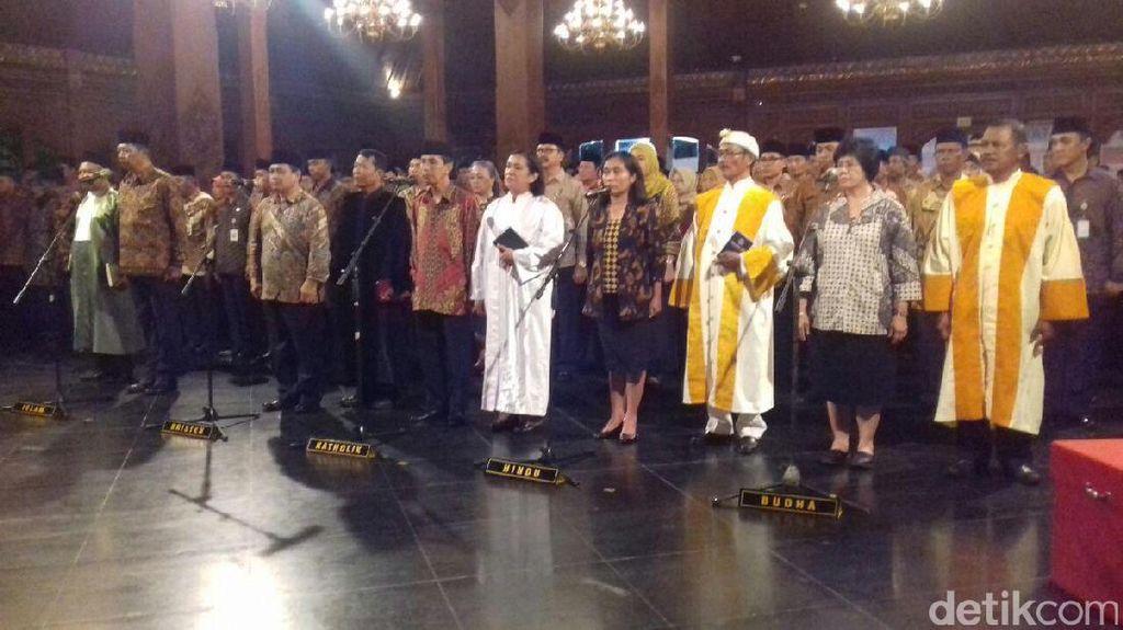 900 PNS di Surakarta Dilantik Tepat di Malam Pergantian Tahun