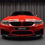 Begini Jadinya BMW M3 Dicat Khas Warna Ferrari
