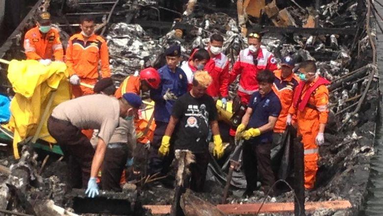 Polisi Selidiki Penyebab Terbakarnya Mesin Kapal Zahro Express