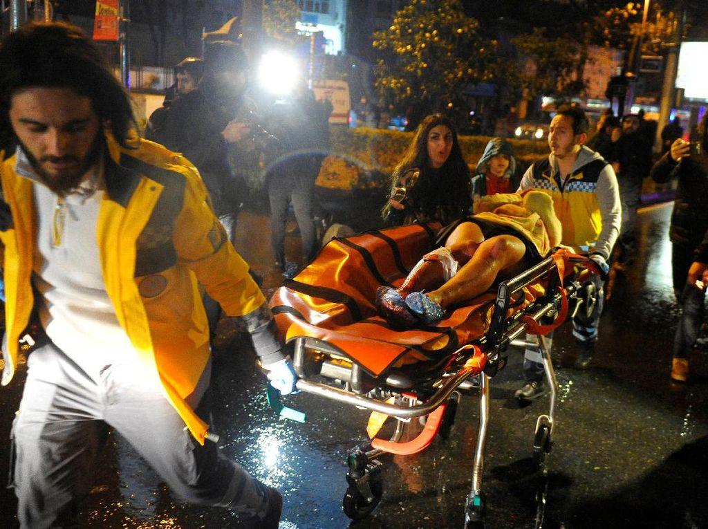 Penembakan Brutal di Istanbul