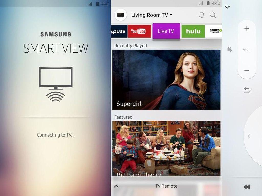 Samsung Boyong Fitur Chromecast ke TV