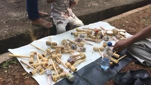 Permainan Tradisional Bambu yang Kian Tergerus Mainan Modern