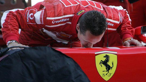 Michael Schumacher adalah legenda F1.