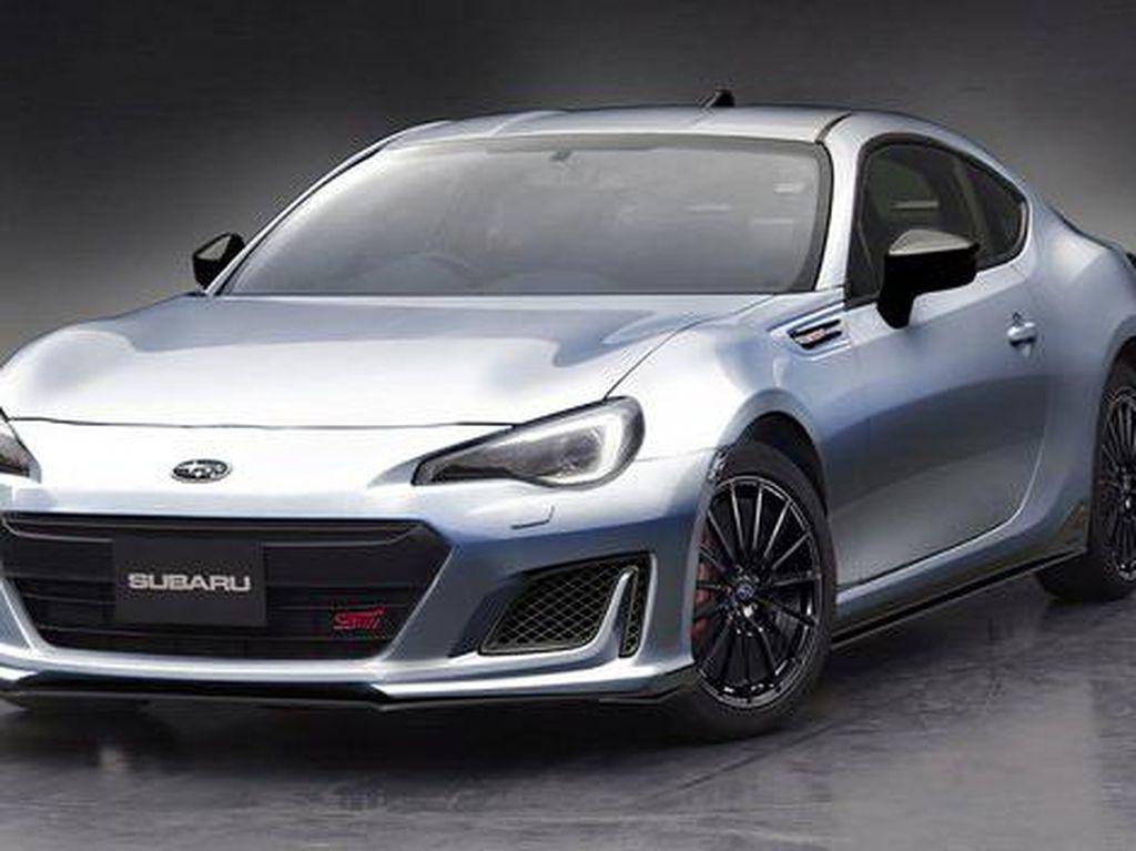 Subaru Siap Kenalkan Konsep BRZ STI Sport
