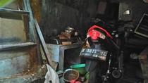 Motor Ini Tetap Utuh Meski Kena Ledakan di Tambora