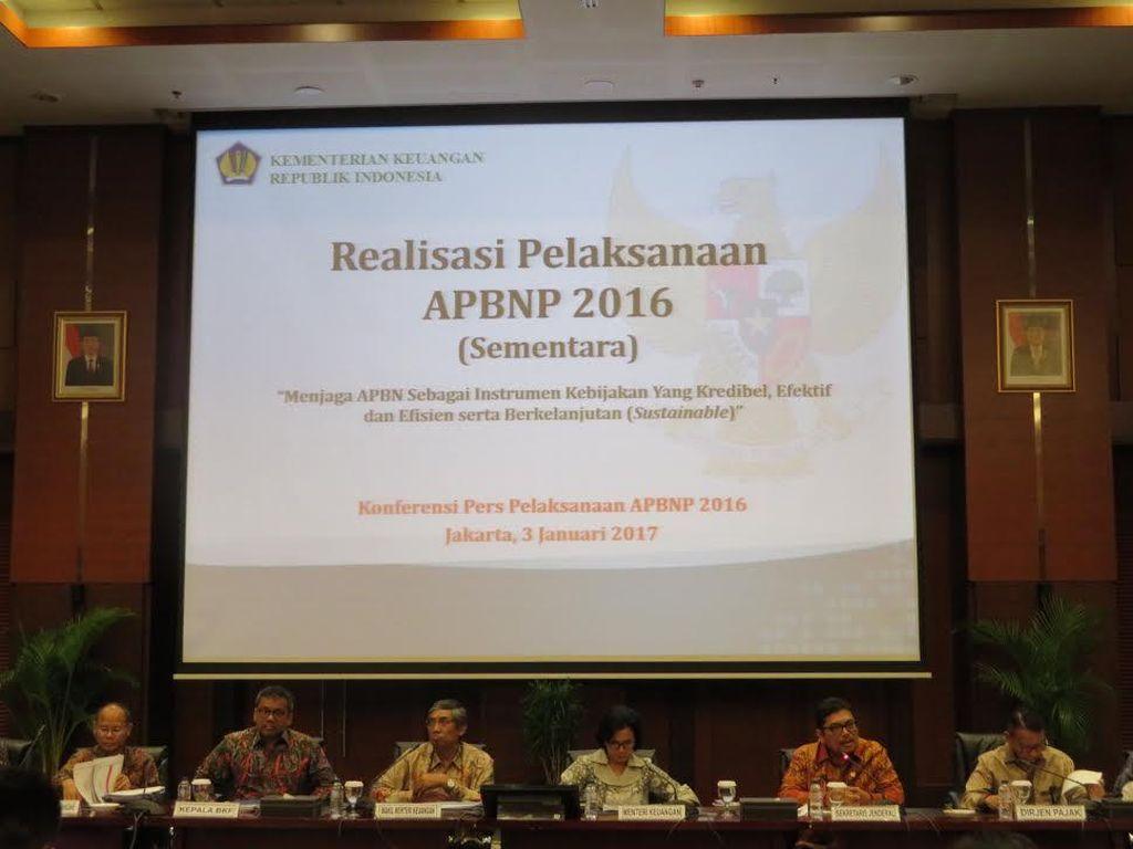 APBN-P 2016 Aman, Defisit Masih di Bawah 3%