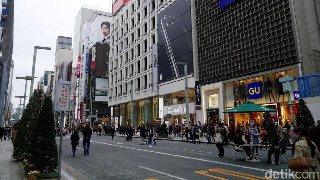 Ketika Pusat Belanja Mewah di Jepang Bebas Kendaraan Bermotor