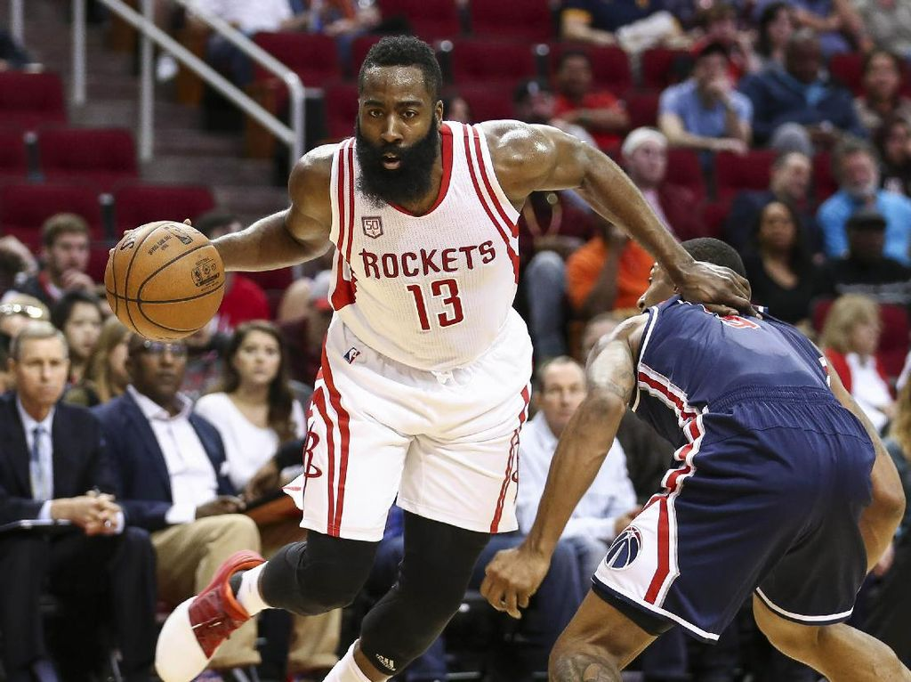 Tundukkan Wizards, Rockets Lanjutkan Rentetan Kemenangan