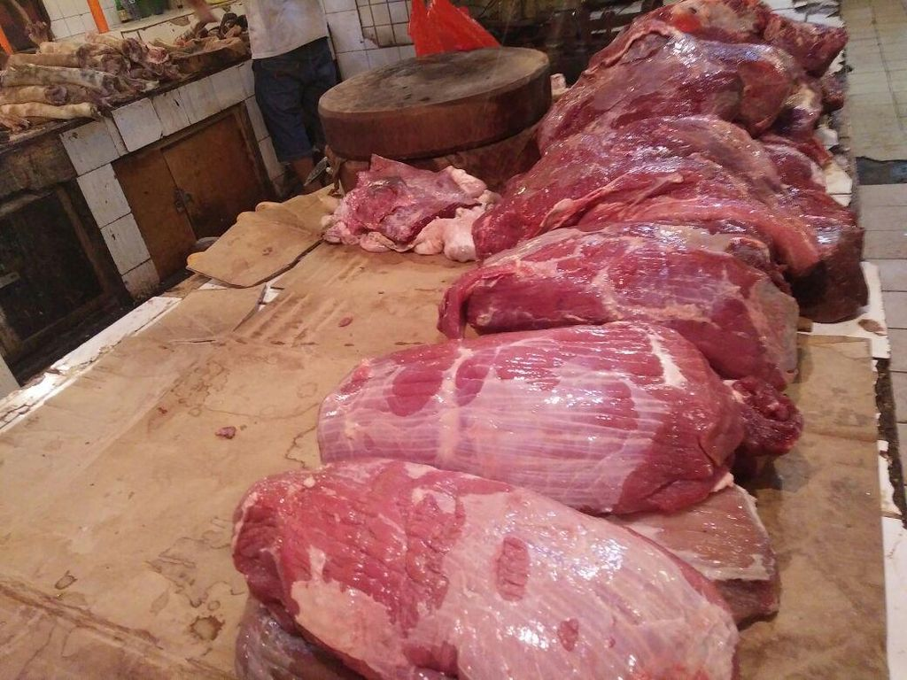 RI Impor 100.000 Ton Daging Kerbau India