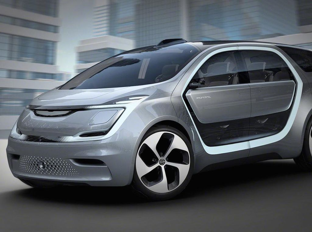 Begini Tampilan Minivan Otonom dari Chrysler