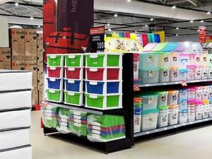 Promo Lemari dan Rak Plastik Harga Hemat di Transmart dan Carrefour