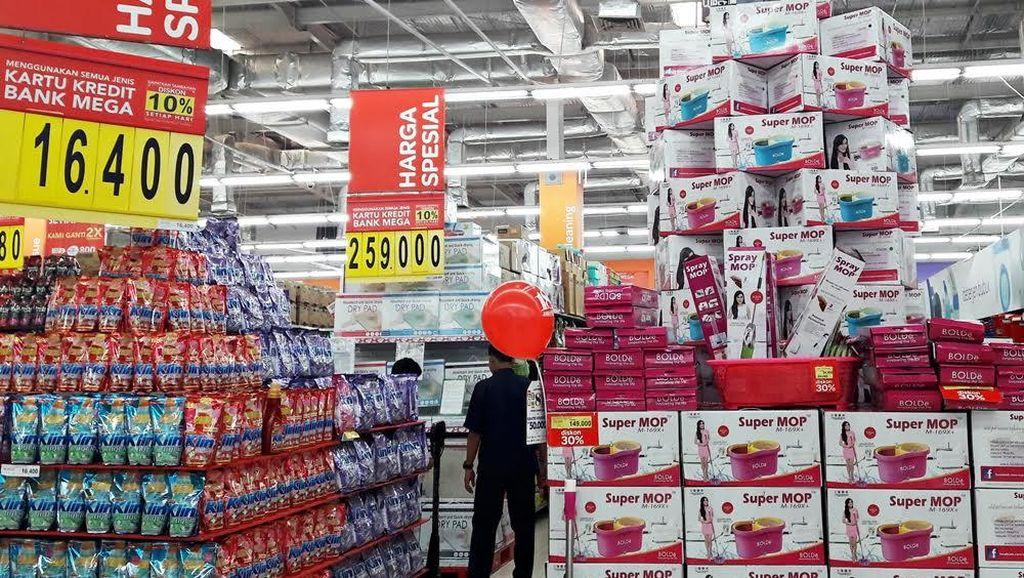 Rumah Lebih Bersih dengan Promo Alat Pel Putar di Transmart dan Carrefour