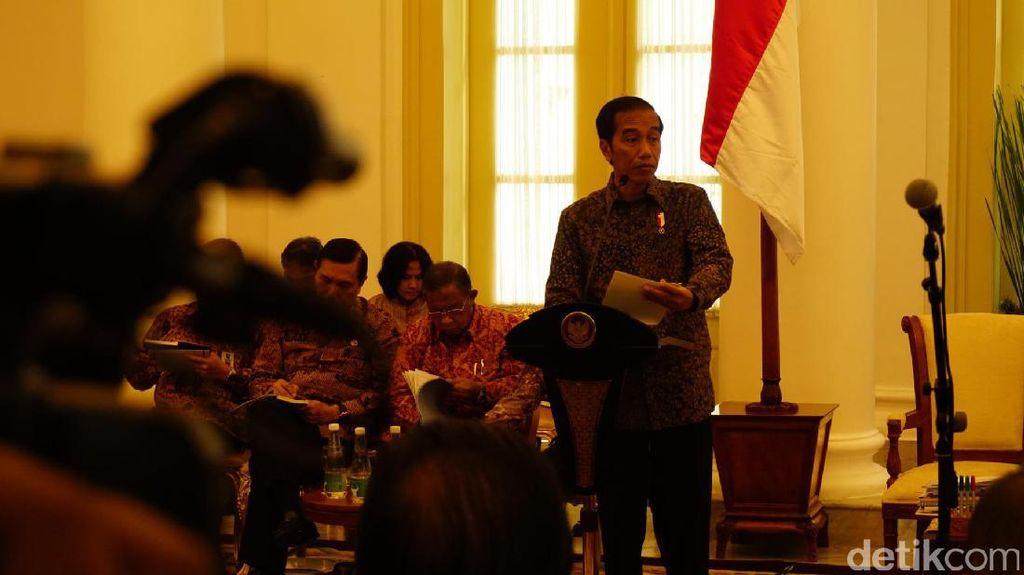 Jokowi akan Dikunjungi Try Sutrisno dan BJ Habibie di Istana
