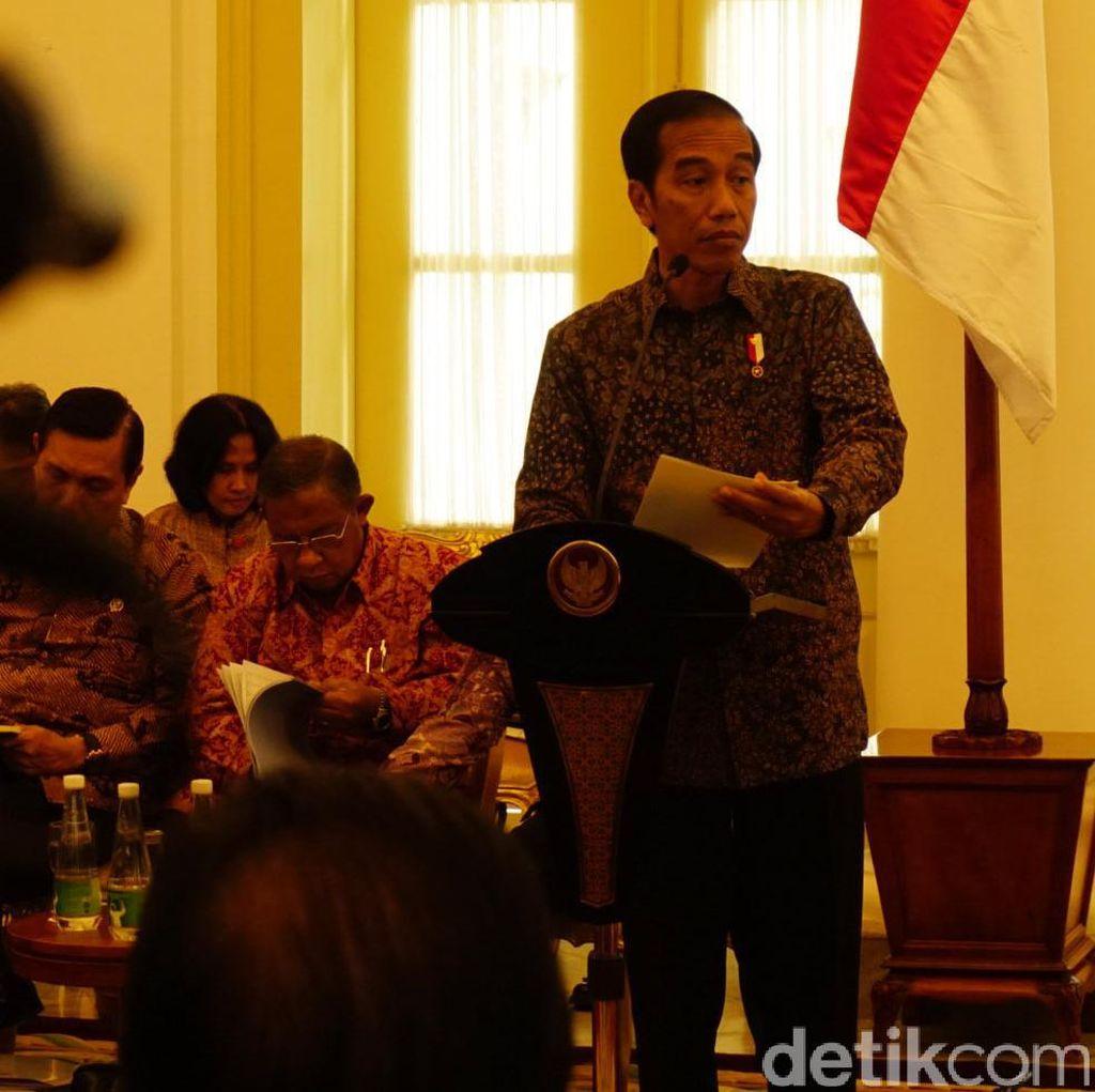 Presiden Jokowi Instruksikan 4 Langkah Pembenahan Total Sepakbola Nasional