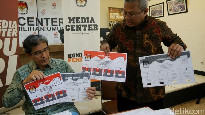 Surat Suara Pilgub DKI 2017 Dicetak di Makassar