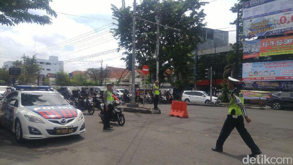 Sejumlah Jalan Protokol di Kota Semarang Dibuat Satu Arah