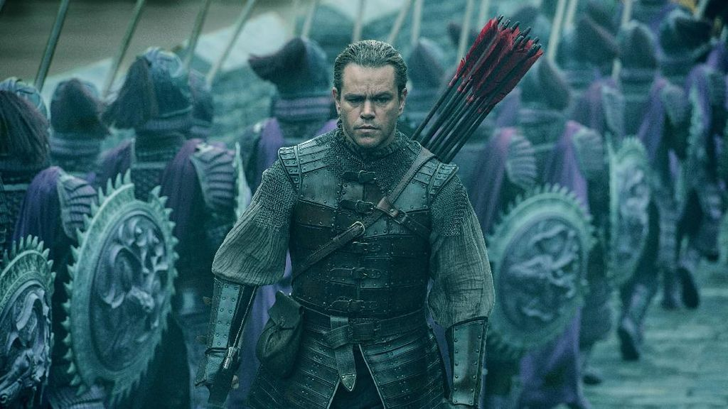 The Great Wall: Monster-monster Zhang Yimou Rasa Hollywood