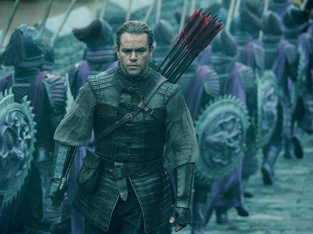 The Great Wall: Monster-monster Zhang Yimou Rasa Hollywood