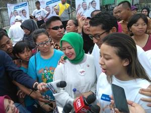 Ikut Kampanye, Anak Sandiaga Persilakan Warga Pilih Sesuai Nurani