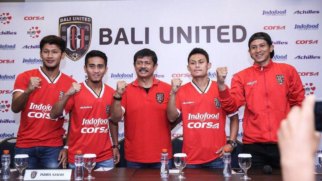 Bali United di Tahun 2017: 16 Pemain Dipertahankan, Empat Pemain Baru