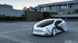 Mobil Otonom Toyota Disapa Concept-i