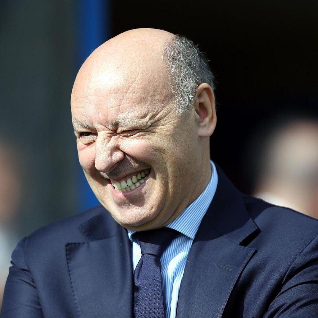 Bertemu Pemilik Inter, Marotta: Kesannya Positif