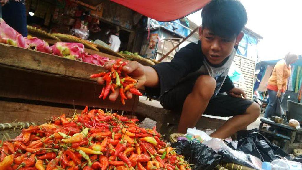 Cabai Rawit Merah di Bandung Capai Rp 130 Ribu/Kg